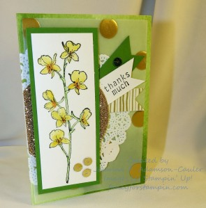 Watercoler Wonder Note Card - 1