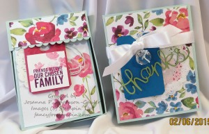 Decorated Card Box Drawer with Cards Figure 22