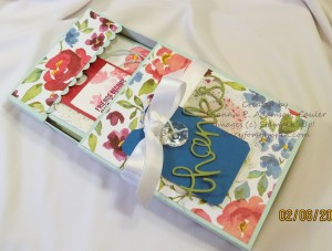 Decorated Card Box Drawer with Cards Figure 23