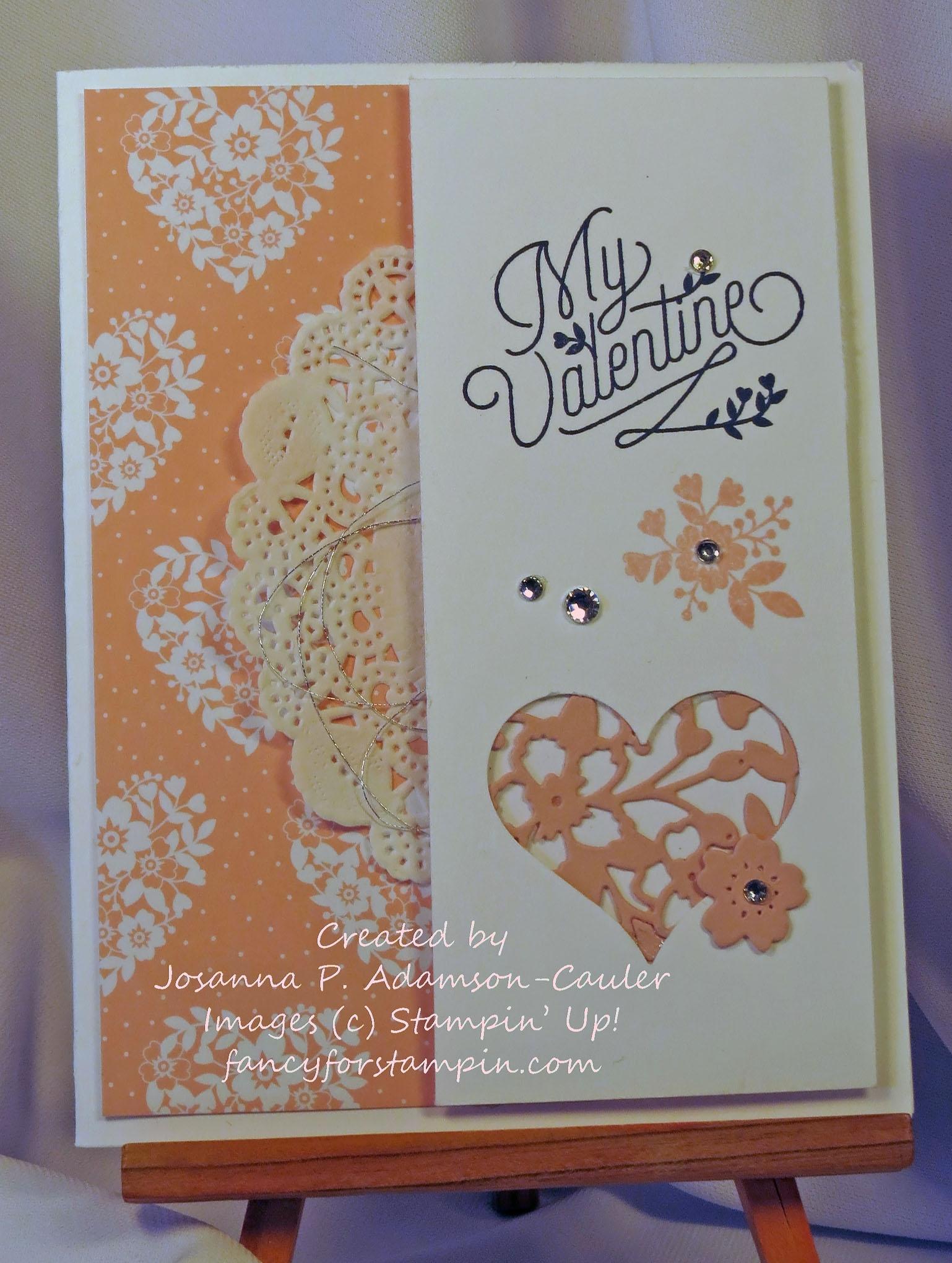 Three Valentine Cards Valentine Treat Tutorial Fancy For Stampin