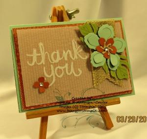 Botanical Blooms Notecard - 2