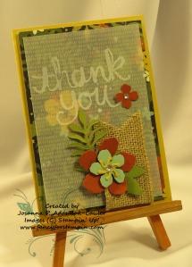 Botanical Blooms Notecard - 3
