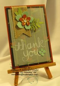 Botanical Blooms Notecard - 4