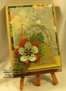 Botanical Blooms Notecard Pizza Box