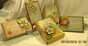 Botanical Blooms Notecards - 5