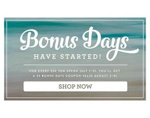 Bonus Days fyer image