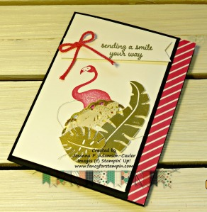 black-pink-flamingo-card